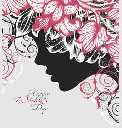 happy womens day background vector image
