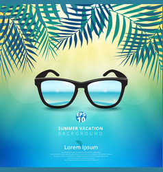 abstract of summer time background with vector image