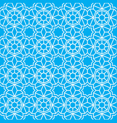 arab ornamental seamless pattern abstract vector image
