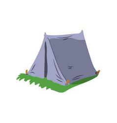 cartoon tent flat design vector image