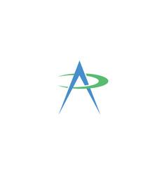 Cool and modern logo initials ap design vector
