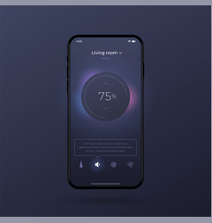 Dashboard ui and ux kit control center design vector