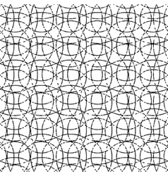 Dotted waved pattern on background vector