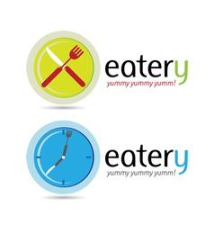 Eatery Logos vector