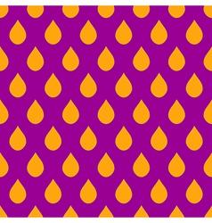 Orange Purple Water Drops Background vector image