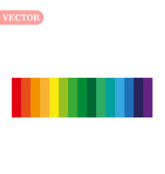 Rainbow color abstract geometric pattern texture vector