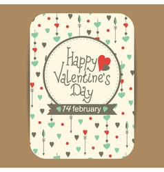 Valentines greeting or party invit card2 vector