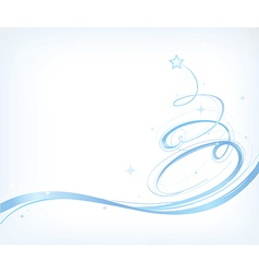Stylised Chirstmas card vector image vector image
