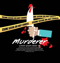 Crime Scene EPS10 vector image