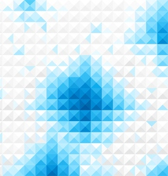 Bluelight Mosaic background vector image vector image