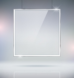 Glass Window Picture Frame vector image