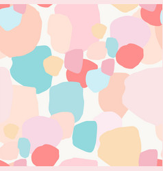 Abstract artistic seamless pattern with gentle vector