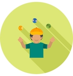 Ball Juggling vector