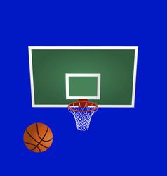 Basketball backboard basketball basket basketball vector