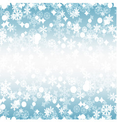 bright winter seamless pattern vector image