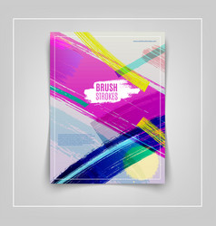 Colorful cover design eps10 vector