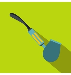 Electronic pipe icon flat style vector image