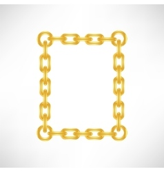 Gold Number 0 vector image