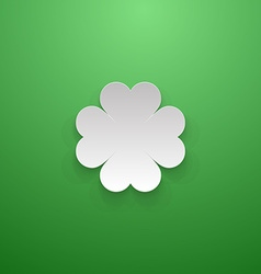 Happy St Patricks Day Greeting Background vector image