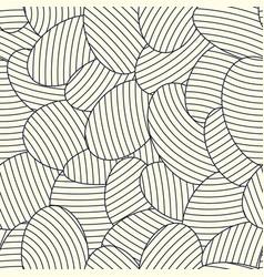 modern stylish seamless pattern vector image