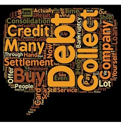 The Pros And Cons Of Credit Card Debt Settlement vector
