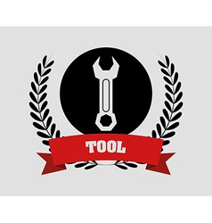 Tools design vector image