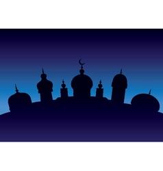 Arabian city 7 vector image