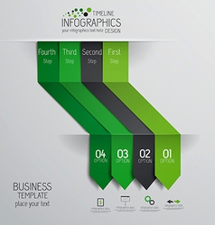 design infographics 2 vector image vector image