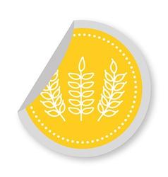 gluten product vector image