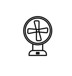 ventilator icon vector image