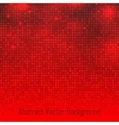 Abstract Red Technology Glow Background vector image vector image
