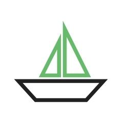 Boat Yacht vector