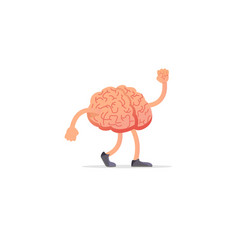 brain mind concept drawing vector image