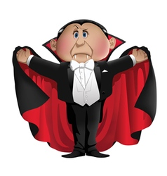 Count Dracula vector image