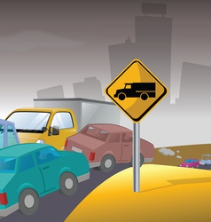 Pollution traffic vector