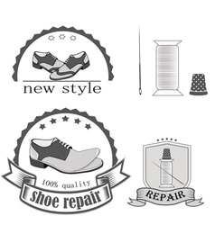 Shoe repair vector
