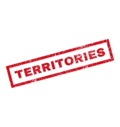 Territories Rubber Stamp vector
