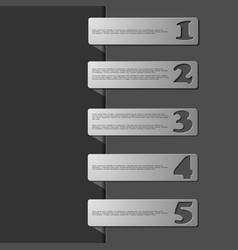 Thin line flat elements for infographic template vector