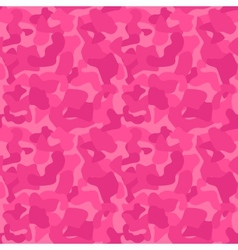 Seamless Camouflage Pattern For Girls Tiled vector image