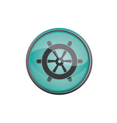 travel icon summer vacations wheel eps10 vector image