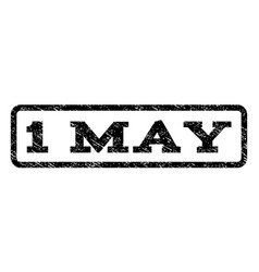 1 may watermark stamp vector image