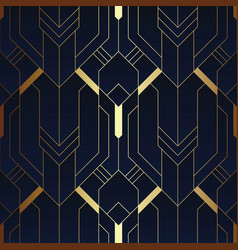Abstract art deco seamless pattern 12 vector