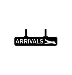 arrasts sign icon element of travel icon for vector image