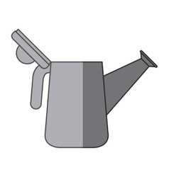 Isolated watering can design vector