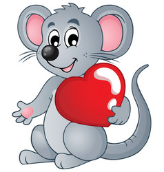 mouse theme image 4 vector image