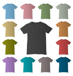 T-shirt design templates vector image