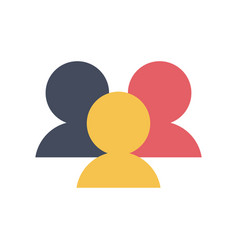 User pictograms icon image vector
