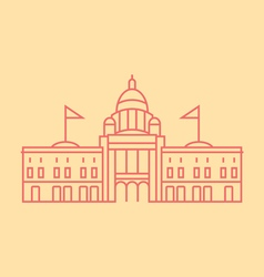 Vermont State vector