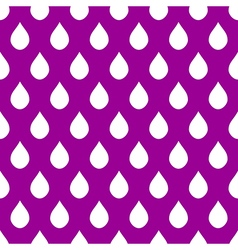 White Purple Water Drops Background vector image