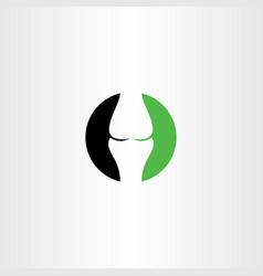 wrist healthy bone logo icon vector image